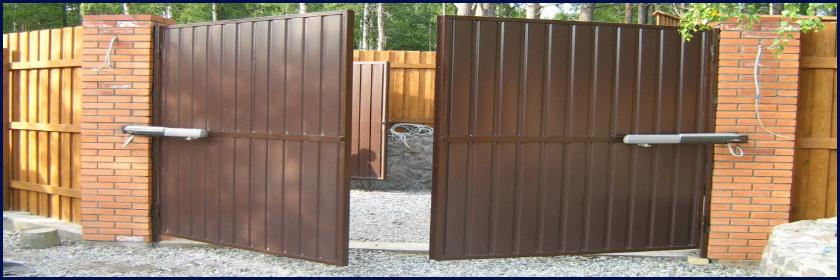 Распашные ворота во Всеволожске