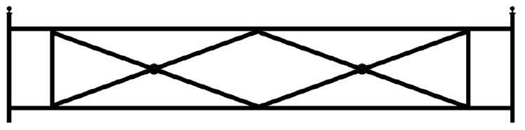Газонная ограда О-1 во Всеволожске