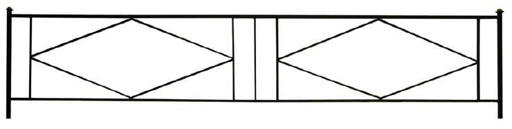 Газонная ограда О-2 во Всеволожске