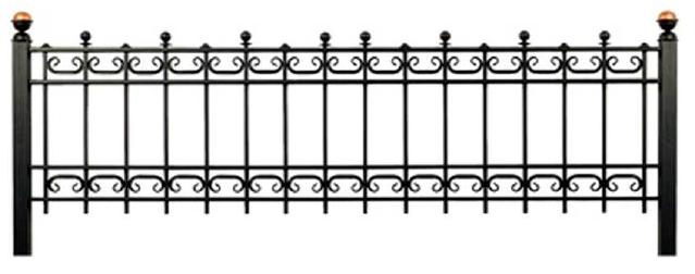Газонная ограда О-26 во Всеволожске