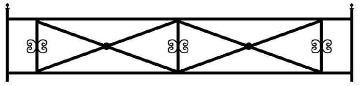 Газонная ограда О-3 во Всеволожске