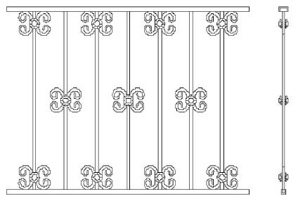 Металлические решетки на окна во Всеволожске (Р1)