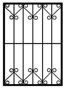 Решетки на окна во Всеволожске (Р11)