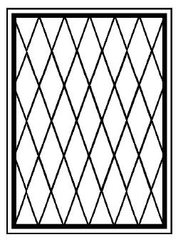 Решетки на окна во Всеволожске (Р13)