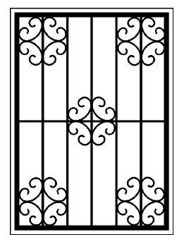 Решетки на окна во Всеволожске (Р15)