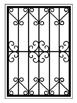 Решетки на окна во Всеволожске (Р16)