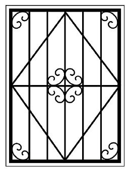 Решетки на окна во Всеволожске (Р17)