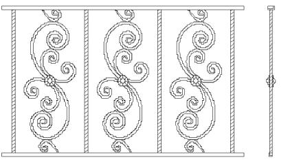 Решетки на окна во Всеволожске (Р4)
