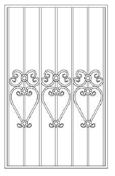 Решетки на окна во Всеволожске (Р7)