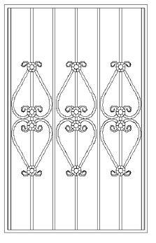 Решетки на окна во Всеволожске (Р9)