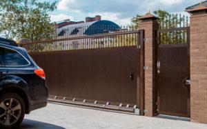 Откатные ворота DoorHan во Всеволожске