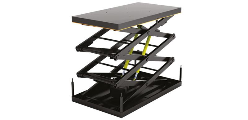 Стол подъемный с тремя парами ножниц во Всеволожске